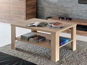 Mazzoni FALCO MINI 90x55 dub sonoma, konferenčný stolík