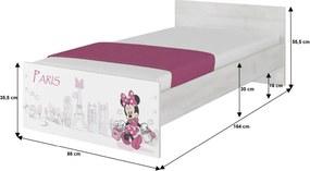 DO Disney Max 160x80 Minnie Paris detské postele