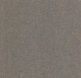 Vliesové tapety na stenu LACANTARA 13706-20, rozmer 10,05 m x 0,53 m, štruktúra medená na čiernom podklade, P+S International