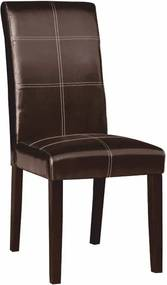 TEMPO KONDELA Rory 2 New jedálenská stolička tmavohnedá / tmavý orech