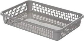 Aldo Plastový košík 15,5 x 12,5 x 6,6 cm, sivá
