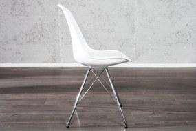 Bighome - Jedálenská stolička SCANIA II - biela