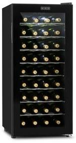 Klarstein Vivo Vino, termoelektrická vinotéka, 36 fliaš, 118 l