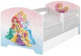 DO Disney Palace pets 140x70 detská posteľ