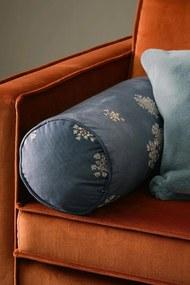 Dekoračný vankúšik Essenza Home Lauren Indigo modrá