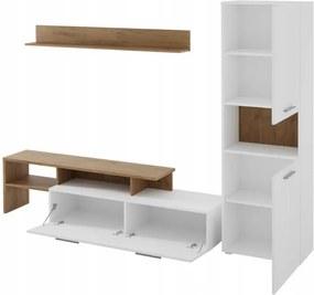 Moderná obývacia stena biela model Jenny