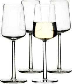 Iittala Poháre na biele víno Essence, sada 4ks