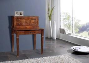 Masiv24 - CAMBRIDGE Písací stôl 85x68 cm, akácia