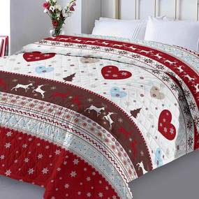 XPOSE® Prikrývka na posteľ SANTA 1 220x240 cm