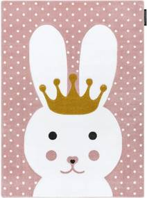 Detský kusový koberec Králiček ružový, Velikosti 180x270cm