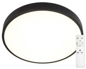 TOP LIGHT Top Light Metal 40C RC -LED Stmievateľné stropné svietidlo LED/51W/230V + DO čierna TP1614