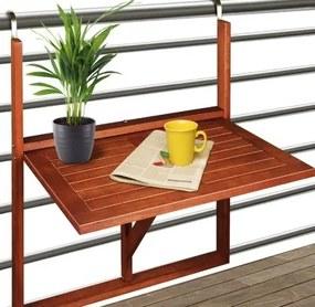 Balkónový stôl - 64 cm x 45 cm x 87 cm