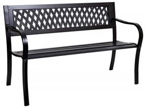 TZB Zahradní kovová lavička Rombo