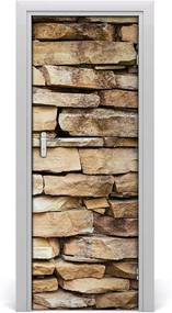 Fototapeta samolepiace na dvere  múr tehly