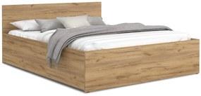 GL Manželská posteľ Dolly - dub craft Rozmer: 140x200