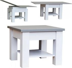 Konferenčný stolek štvorec rozkladací Dromi