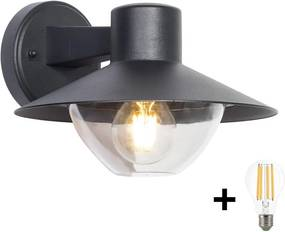 BRILAGI Brilagi - LED Vonkajšie nástenné svietidlo VEERLE 1xE27/8W/230V IP44 B9963