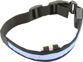APT Svietiace obojok - modrý S, AG232A