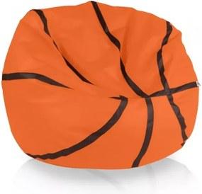 Sedací vak Basketbal pomaranč