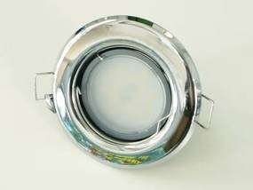 T-LED LED bodové svetlo do sadrokartónu 3W chróm 12V Farba svetla: Denná biela