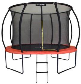 Marimex | Trampolína Marimex Premium 305 cm + vnútorná ochranná sieť + schodíky ZDARMA | 19000068