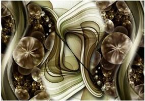 Murando DeLuxe Tapeta smaragdové tajemství 150x105 cm