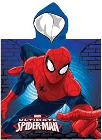 Setino · Detské kúpacie pončo - osuška s kapucňou Spiderman - MARVEL