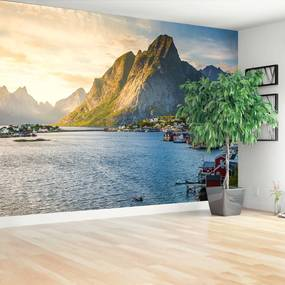Fototapeta fjord Nórska