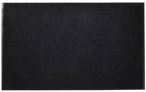 Čierna PVC rohožka, 90 x 150 cm