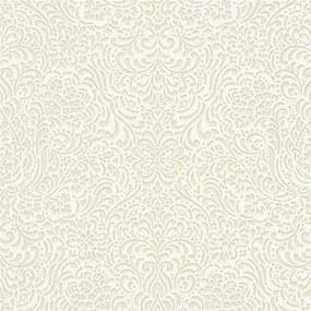 Vliesové tapety na stenu Modern Classics 5413-02, rozmer 10,05 m x 0,53 m, lesklý ornamentálny vzor krémový, Erismann