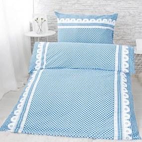 XPOSE® Krepové obliečky APOLENA - modrá
