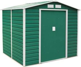 G21 Záhradný domček GAH 407 - 213 x 191 cm, zelený