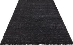 ELLE Decor koberce Kusový koberec Passion 103692 Anthracite Black z kolekce Elle - 120x170 cm