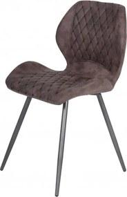 Sconto Jedálenská stolička AURORA S vintage hnedá