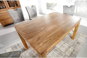 Jedálenský stôl 20601 140x90cm Masív drevo Palisander-Komfort-nábytok