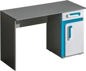 Najlacnejsinabytok Písací stôl Apetito A9, modrý