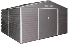 G21 Záhradný domček GAH 1085 - 340 x 319 cm, šedý