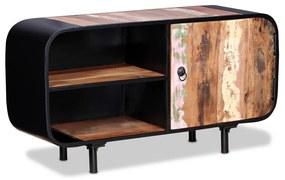 vidaXL TV stolík z recyklovaného dreva, 90x30x48 cm