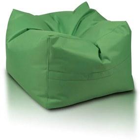 INTERMEDIC Sedací vak Taburetka CUBO, Polyester - NC02 - Zelená (Polyester)