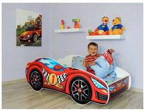 Detská posteľ Racing červený 160x80