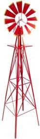 Veterný mlyn červený, 245 cm