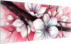 Obraz kvetov (120x50 cm)