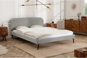 BETT VELVET posteľ Sivá