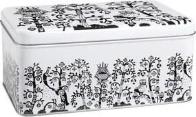 Plechový box Taika, čierny Iittala