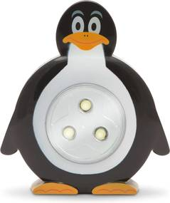 Detská prenosná lampička, Tučniak