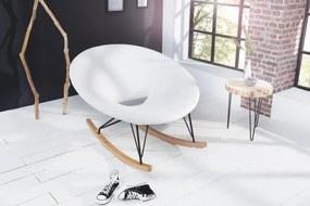 Húpacia stolička Floating biela