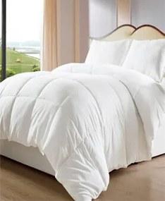 Moona Home Textile Deluxe súprava (biela): Paplón & Vankúš Anacleto, 140 x 200 cm & 70 x 90 cm