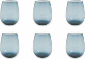 Sada 6 modrých pohárov Villa d'Este Happy Hour
