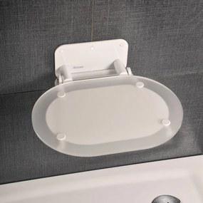 Ravak sedátko do sprchy Chrome s bielou konštrukciou