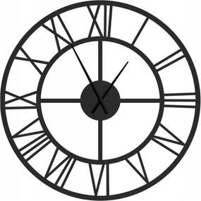Kovové nástenné hodiny Rím, priemer 100 cm